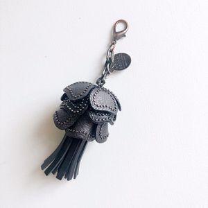 [Henri Bendel] RARE 3D Flower Key Charm/Bag Charm